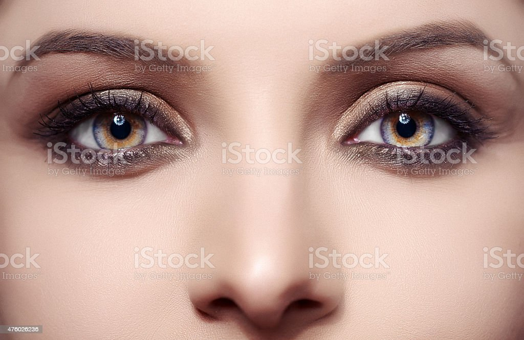 how to get hazel eyes