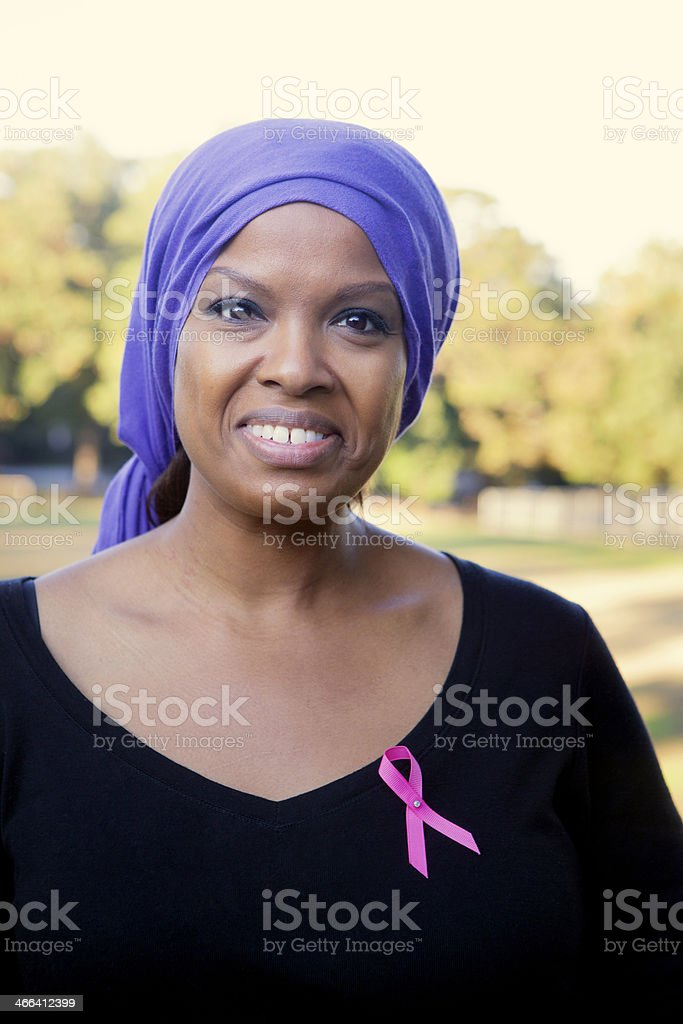 Woman with Cancer stock photo