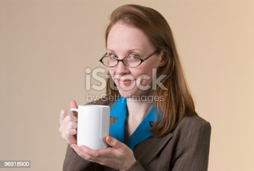 Woman With Coffee Stock Photo & More Pictures of Adult