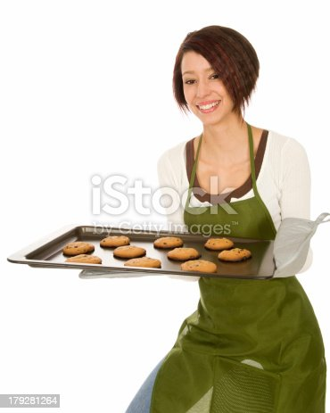 istock Woman with Cookies 179281264