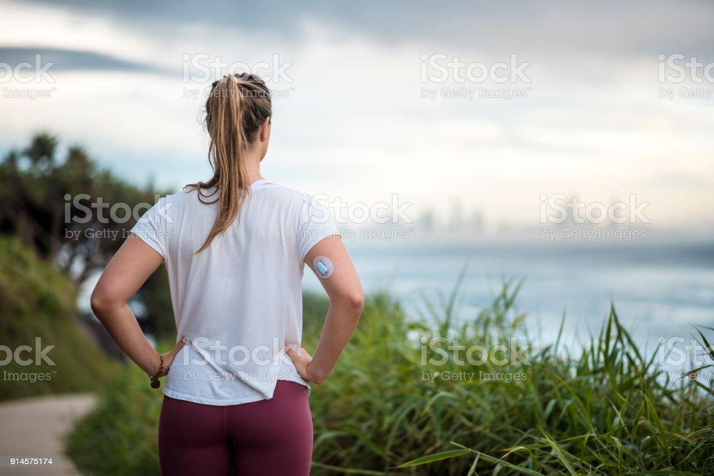 Frau mit Diabetes läuft in Australien – Foto