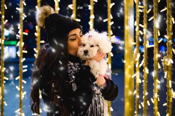 Woman with dog enjoying new year eve picture id1170177519?b=1&k=6&m=1170177519&s=612x612&w=0&h=dbtnttldtf6hfe8kgsawfw9yxnlr71sfcdcsf5xm02o=