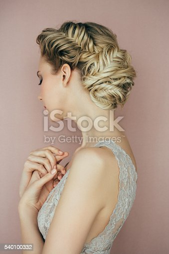 istock Woman with hairstyle 540100332