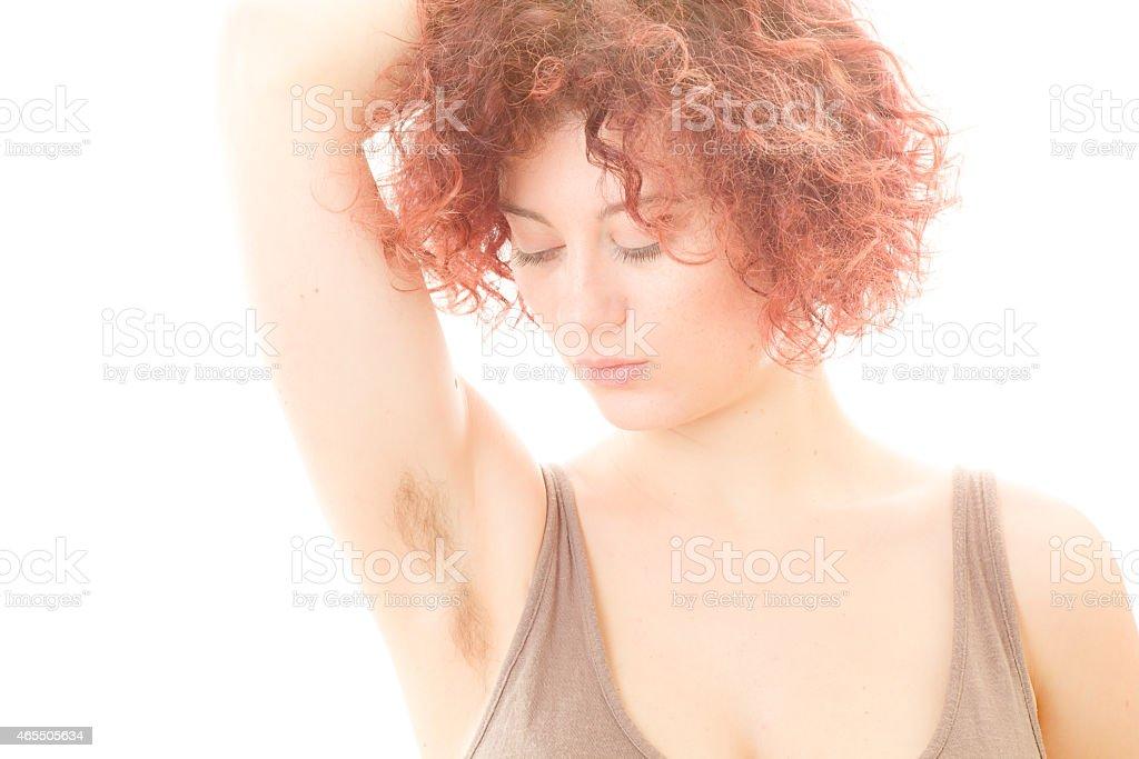 Hairy redhead tube