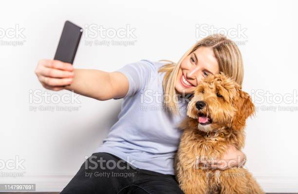Woman with his golden labradoodle dog isolated on white background picture id1147997691?b=1&k=6&m=1147997691&s=612x612&h=vlmhu gkx4dow5ckobc rg7kv9nubn soxnlvh0oyqm=