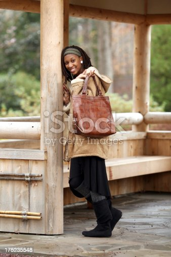 509923232 istock photo Woman with Purse 175235548