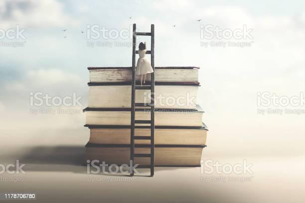 Woman with sacrifice and determination reaches knowledge picture id1178706780?b=1&k=6&m=1178706780&s=612x612&h=7wmadpjspsnqxlc8cgmv62 yhc4qiqj8rey9uzzopek=
