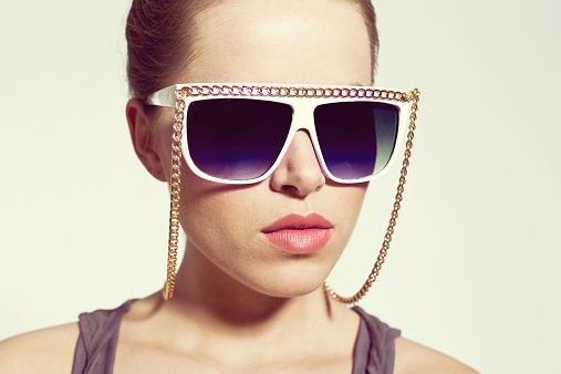 Woman With Sunglasses Stock Photo - Download Image Now