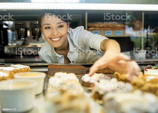 Woman working at a bakery picture id469544122?b=1&k=6&m=469544122&s=612x612&h=elcndtqchxz7tfpevzkdfrfa93tgqifagjsa9jcdely=