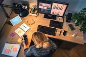 istock Woman Working From Home 1259031561