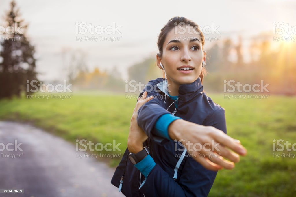 Woman working out стоковое фото