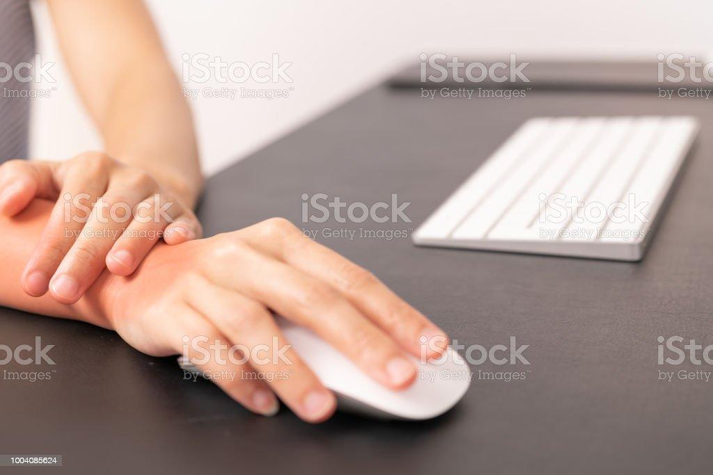 dor no punho e mão e braço