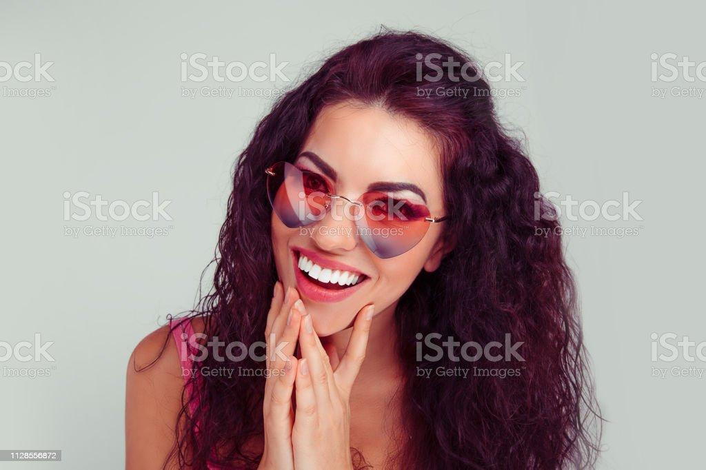 Closeup portrait young hispanic latina woman young woman in...