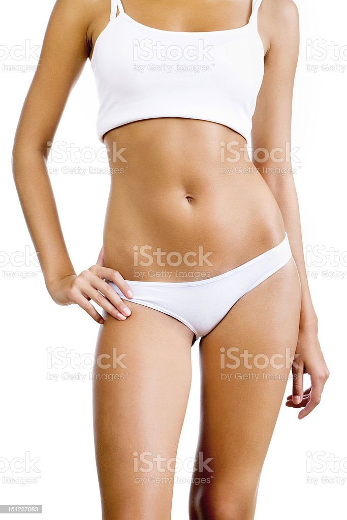 Woman's body stock photo