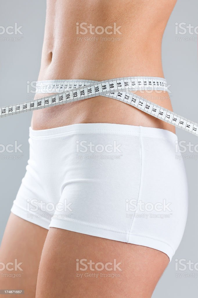 Woman's body royalty-free stock photo