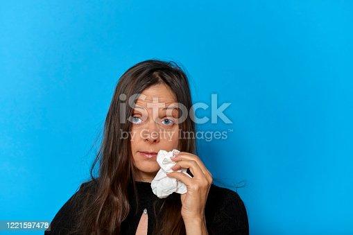istock Woman's eyes 1221597478