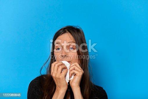 istock Woman's eyes 1222085845