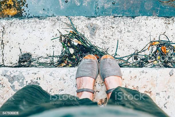 Womans feet in suede sandals picture id547506928?b=1&k=6&m=547506928&s=612x612&h=cyacvkjsvcmfrzsbwyzoku icu0e78h6hbuegjoxzak=