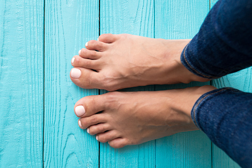 Womans Feet Stock Photo - Download Image Now