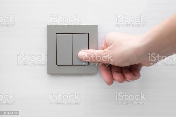 Womans hand pressing light switch at the wall picture id901481168?b=1&k=6&m=901481168&s=612x612&h=wxrshcwmpbzrlo8pzhgjipafidhuqqcuswi3wbv 4ys=