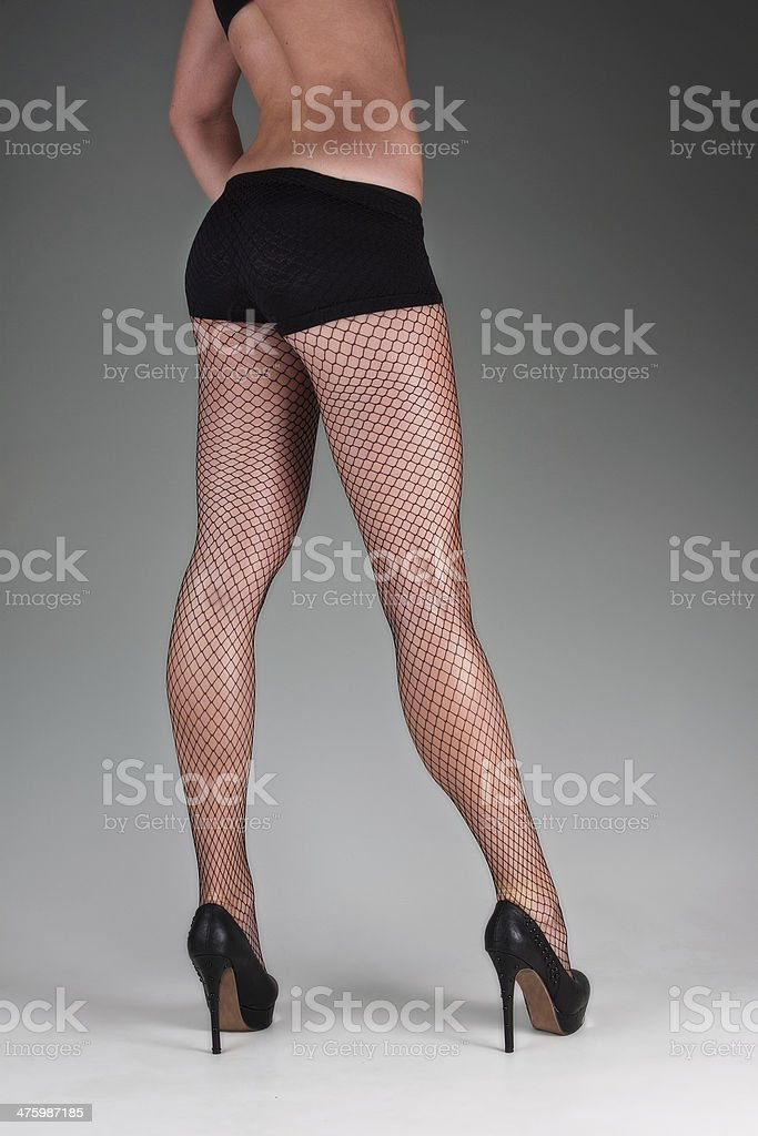 womans legs stock photo