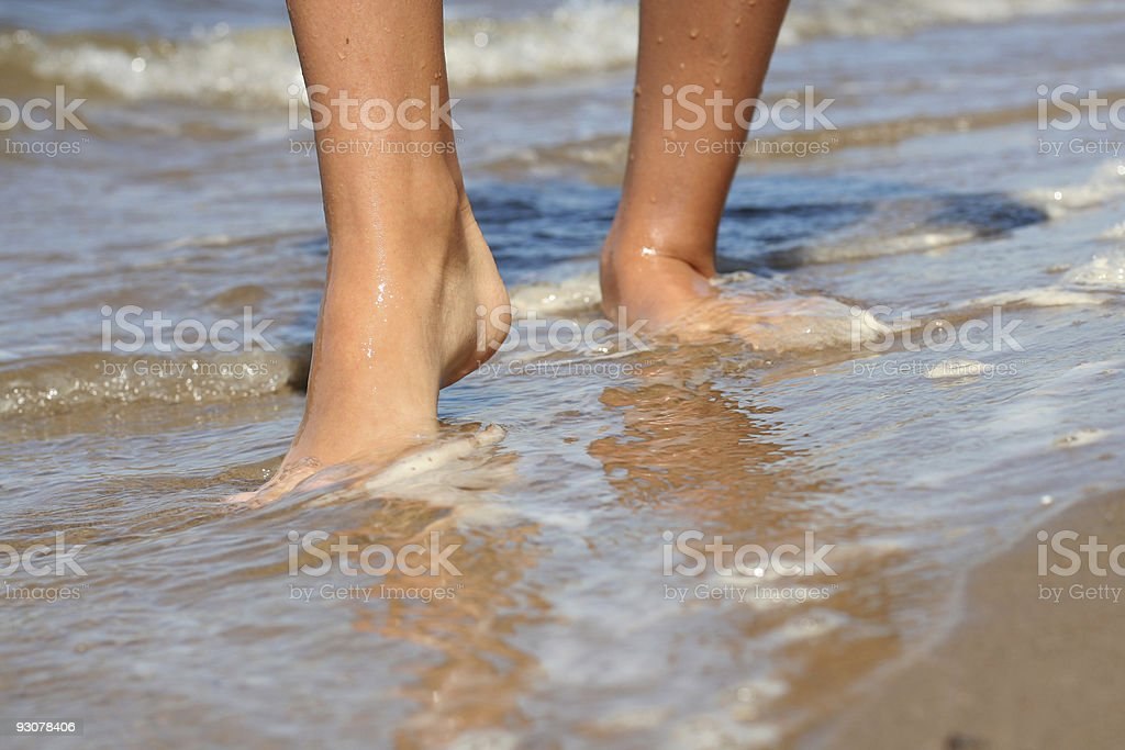woman's legs royalty-free stock photo