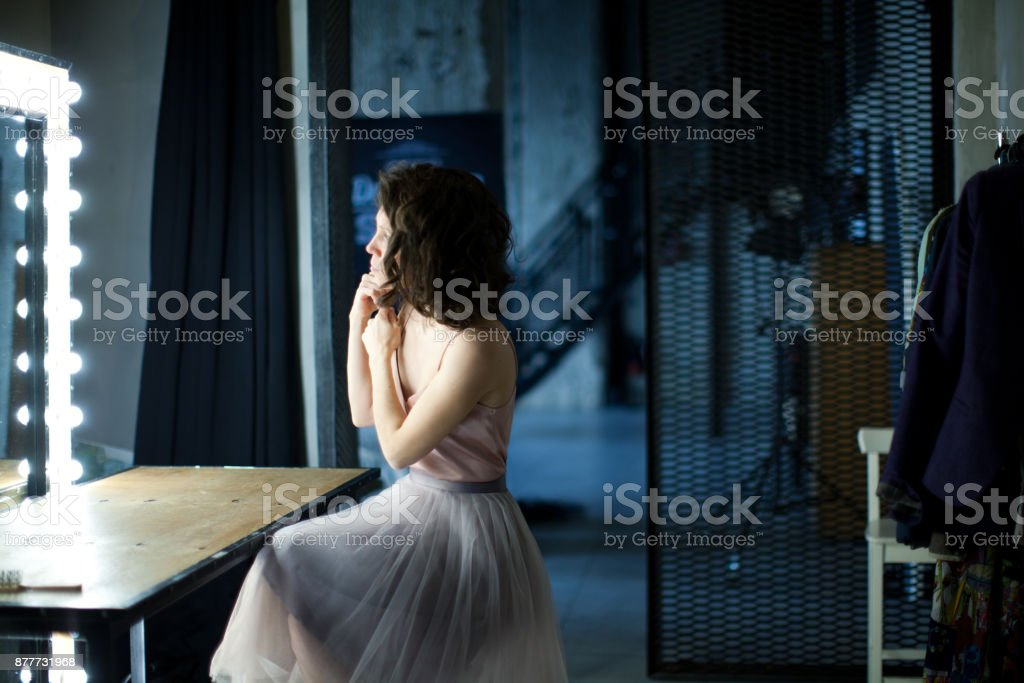 Woman's portrait stock photo