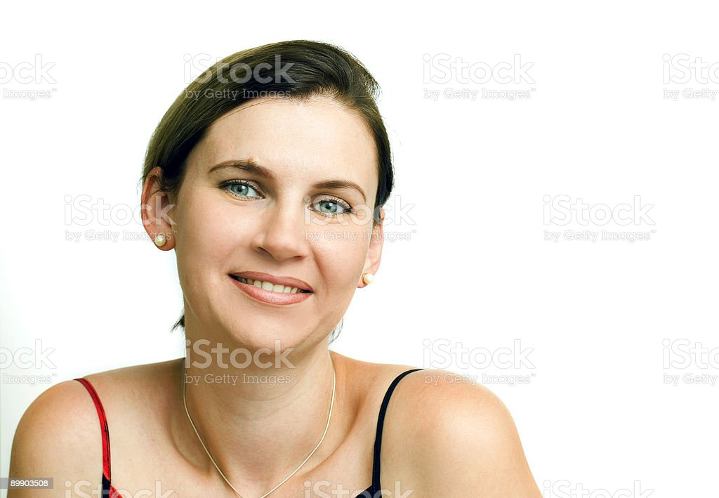 Woman's portrait royalty-free stock photo