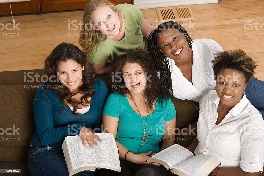 Woman's small group stock photo
