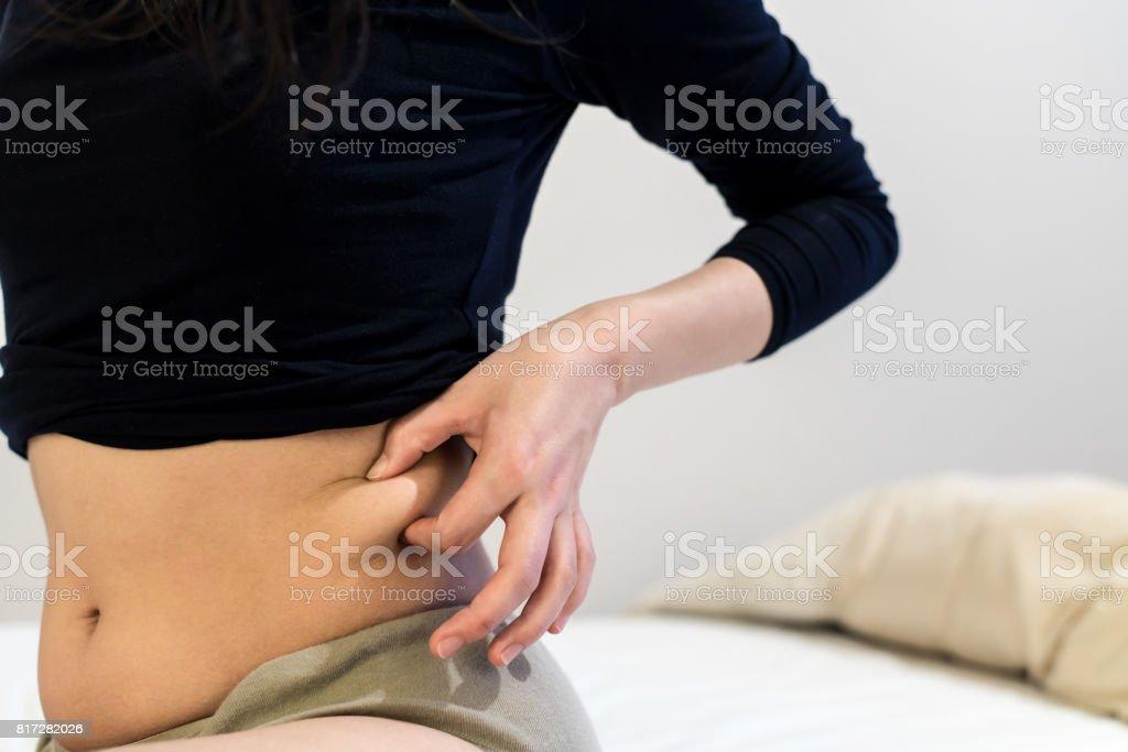 Woman's waist - foto stock