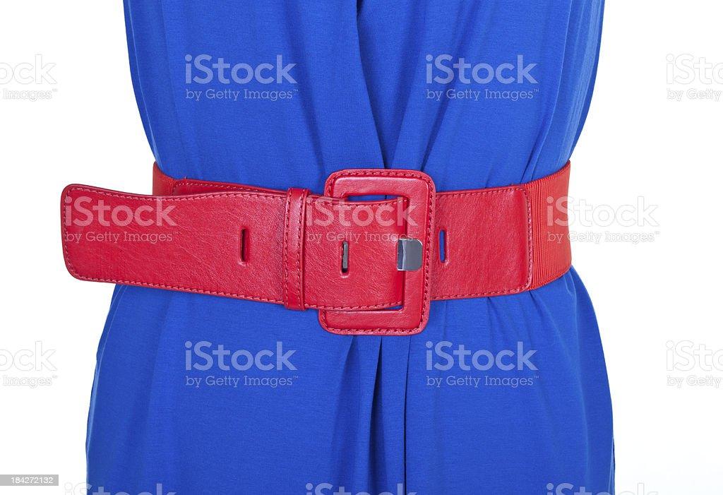 Woman's waistline royalty-free stock photo