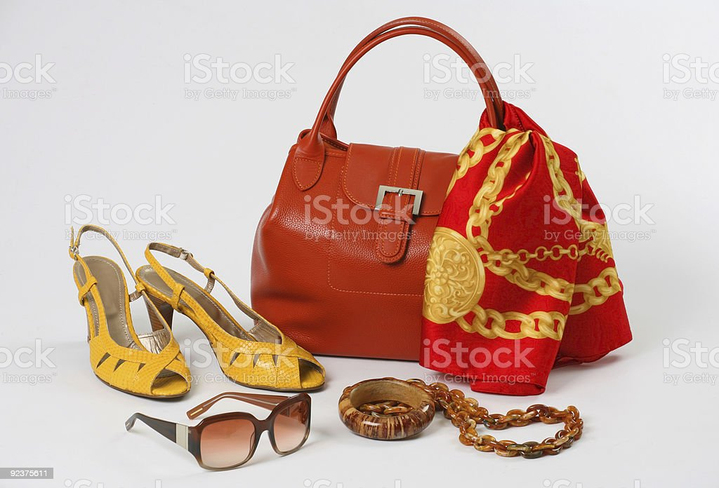 Damen-Accessoires Lizenzfreies stock-foto