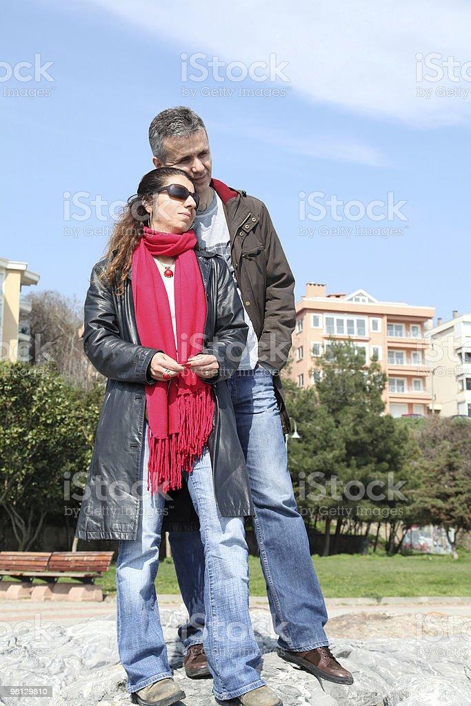 여자대표 및 남자 royalty-free 스톡 사진