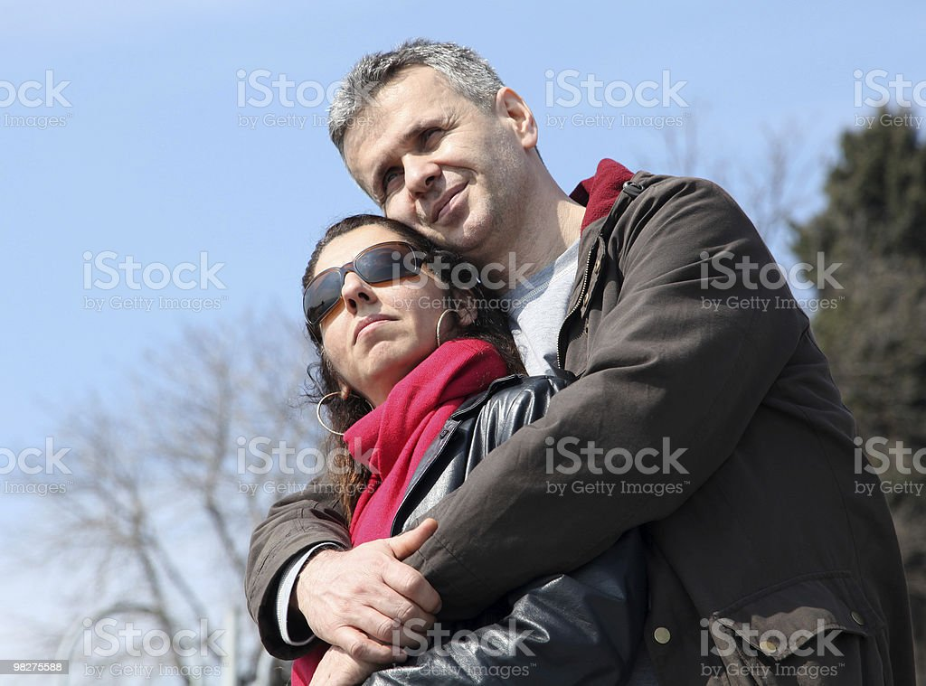 Women and man. royalty-free stock photo