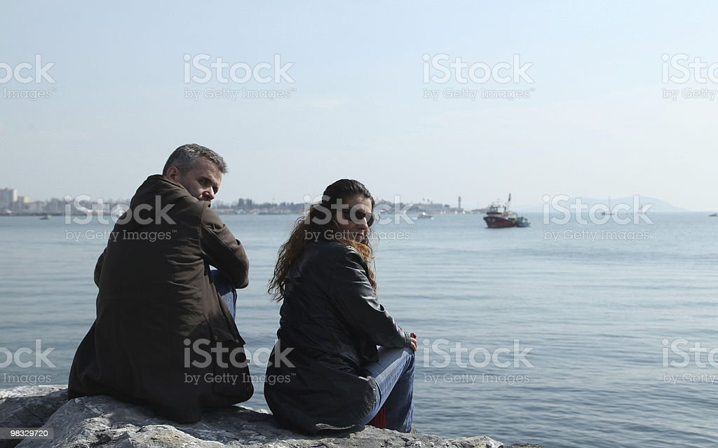 Donna e uomo foto stock royalty-free