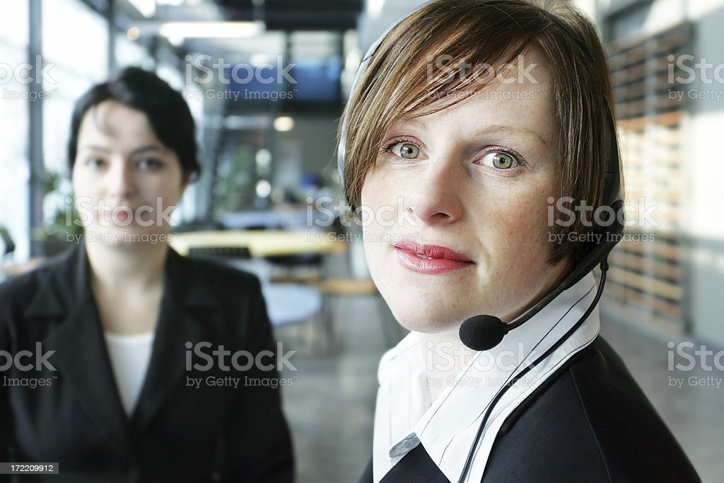 Women at work royalty-free stock photo