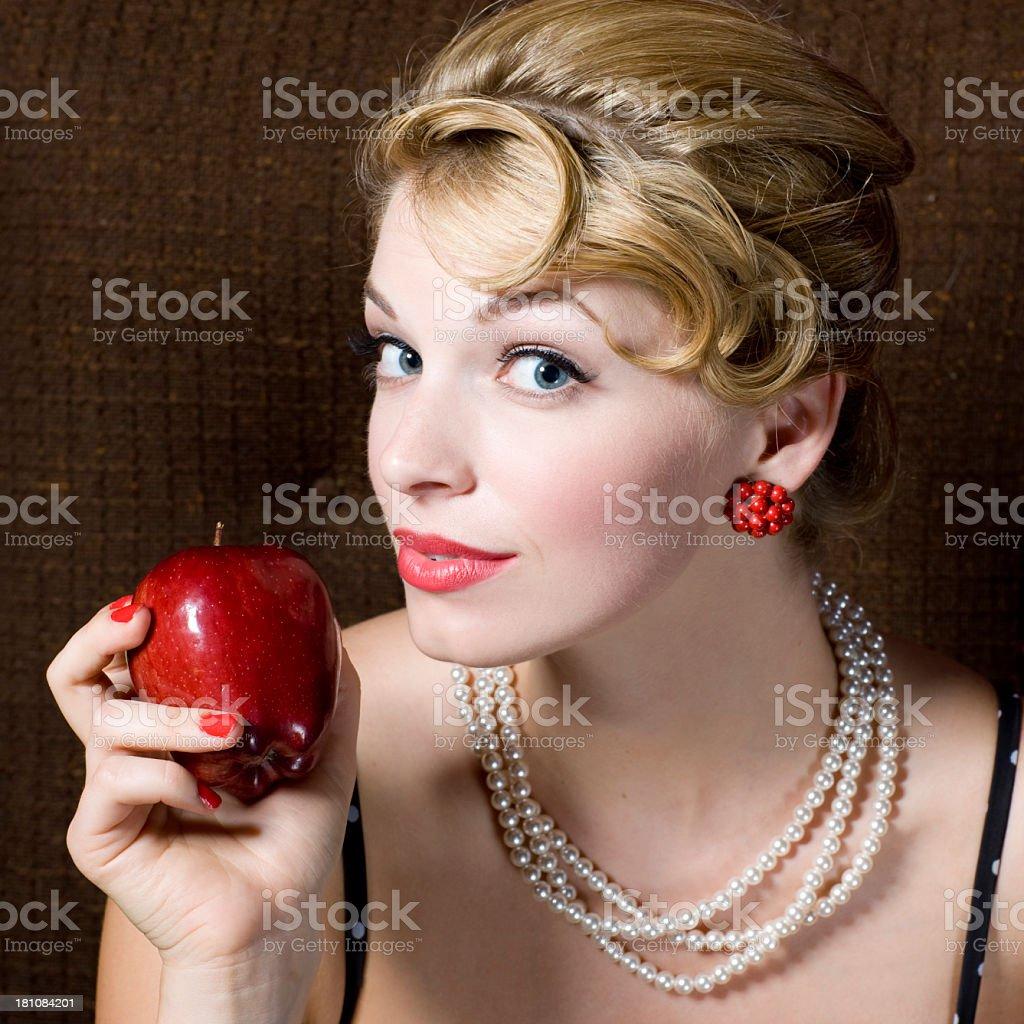 Women Beauty Portrait royalty-free stock photo