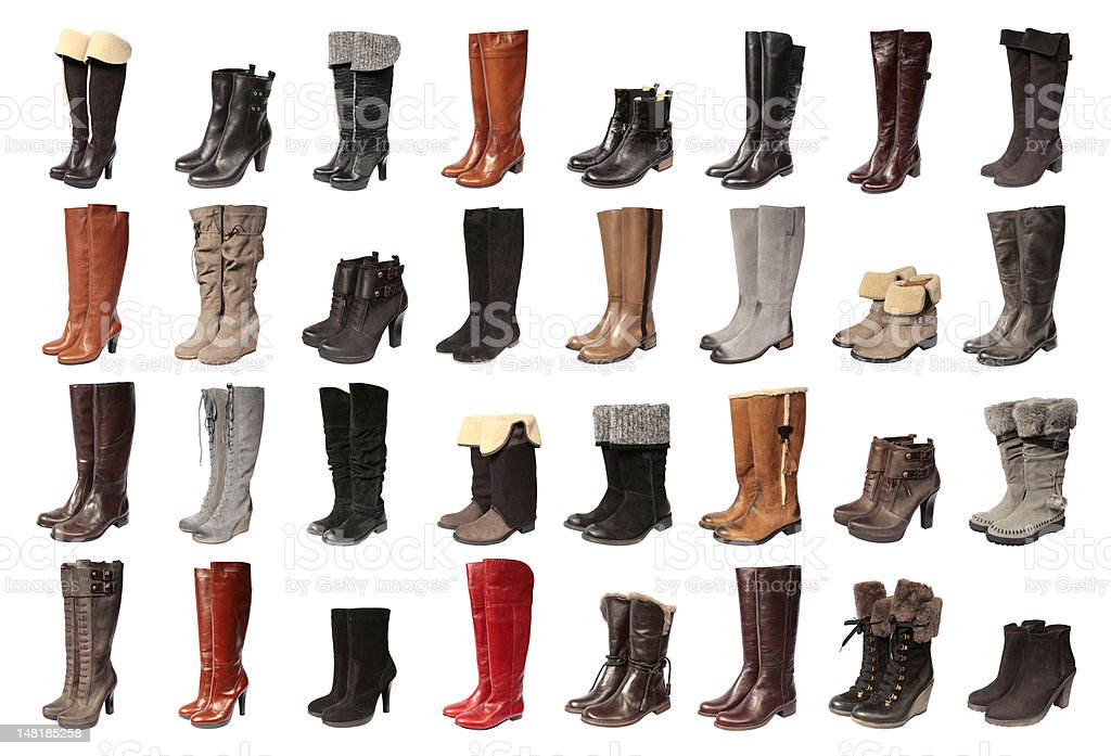 Women boots stock photo