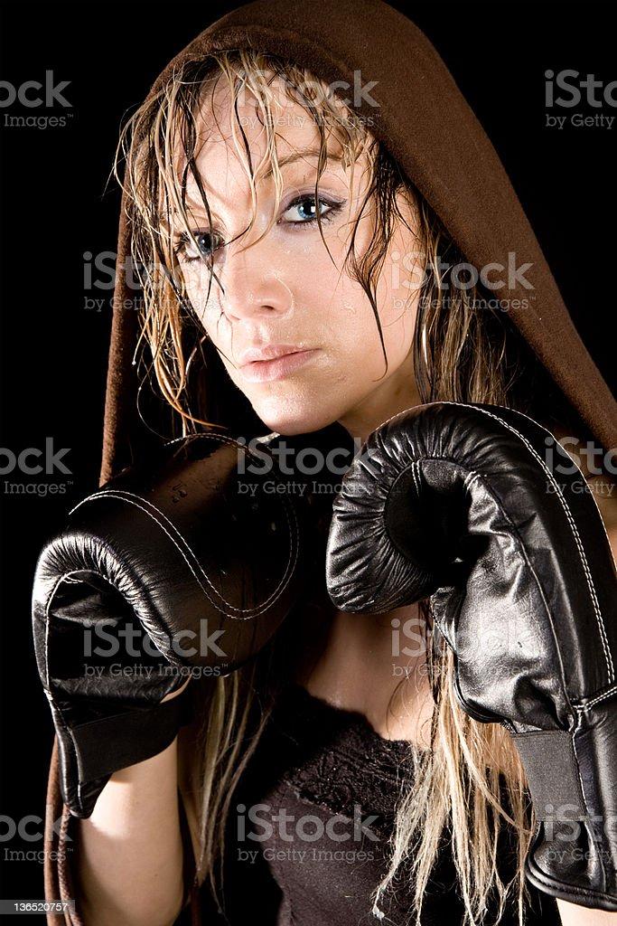 Mulheres Pugilista - foto de acervo