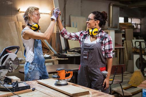 Women carpenter's