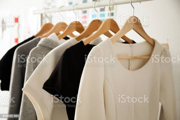 Women clothes hanging on hangers clothing rails fashion design picture id916092484?b=1&k=6&m=916092484&s=612x612&h=h70pcih7bjotcwo8lazwcpwvgd9mxncbxvy gay dci=