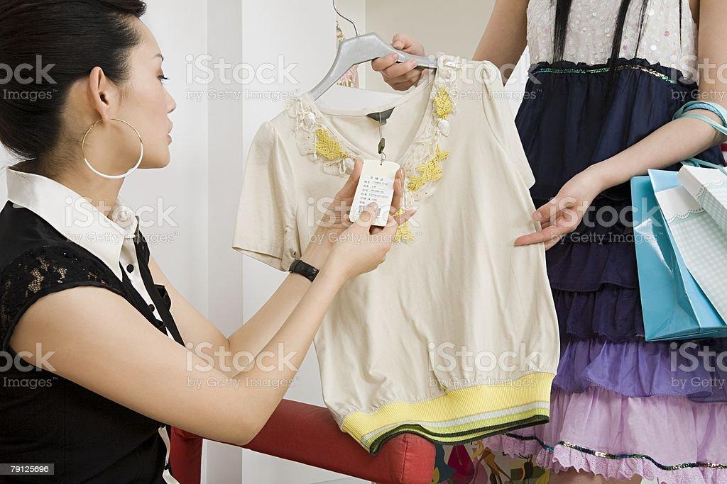 Women clothes shopping 免版稅 stock photo