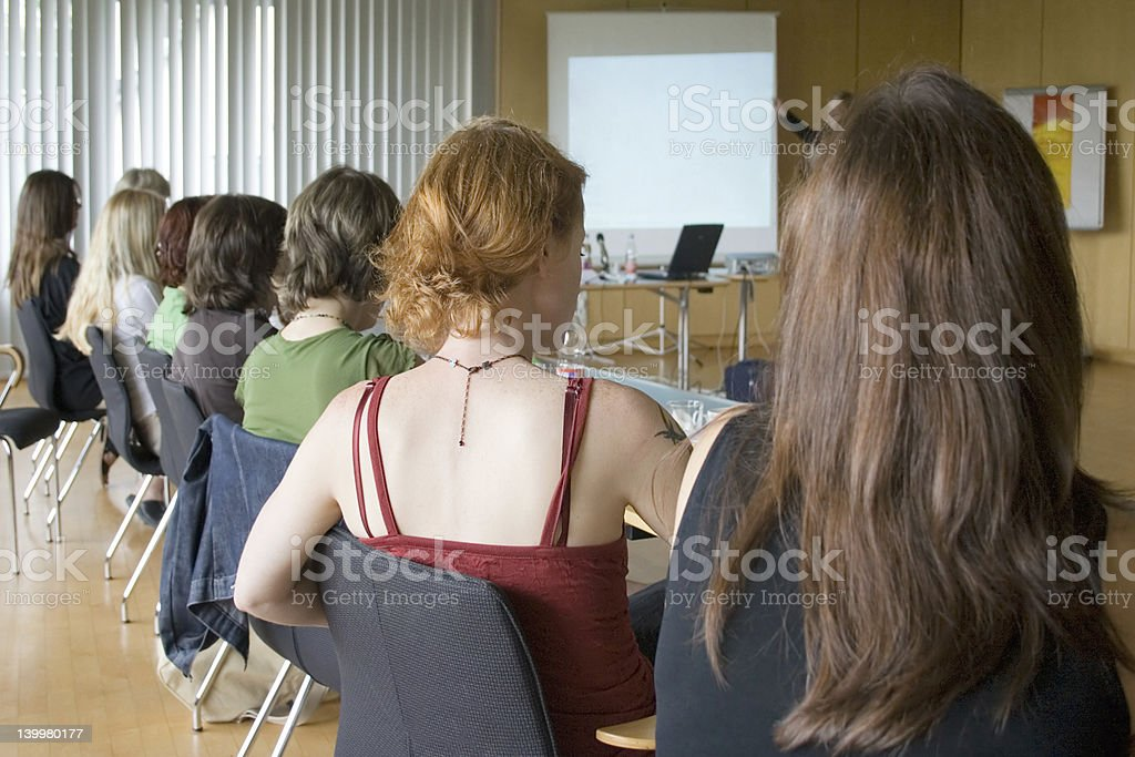 Women Conference stock photo