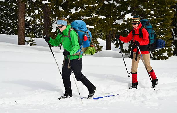 Frau Cross Country Ski – Foto