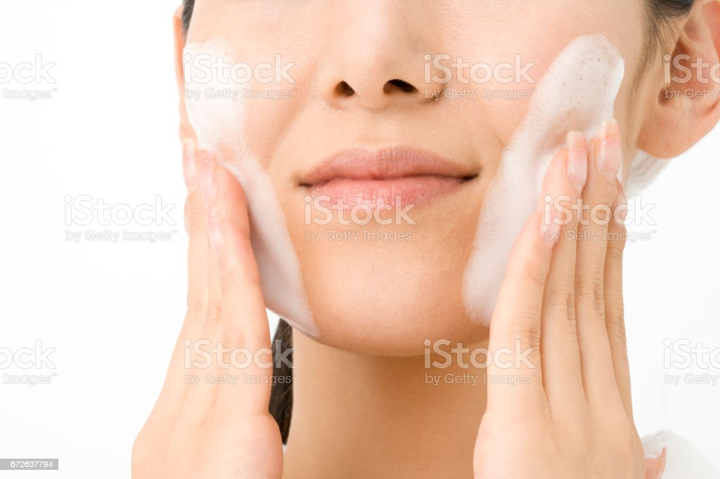 Women facial stock photo