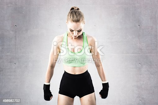 527896028 istock photo Women Fighter in a Stand Off 498982702