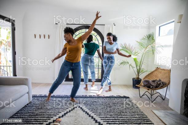 Women friends having fun at home dancing and singing in the living picture id1124519838?b=1&k=6&m=1124519838&s=612x612&h=ffmparmy vaulaxqa673biu0jmorpogbp np1jcx8qa=