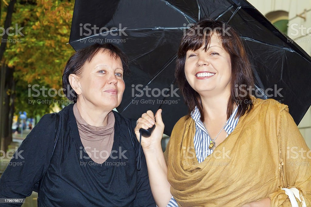 Women friendship stock photo