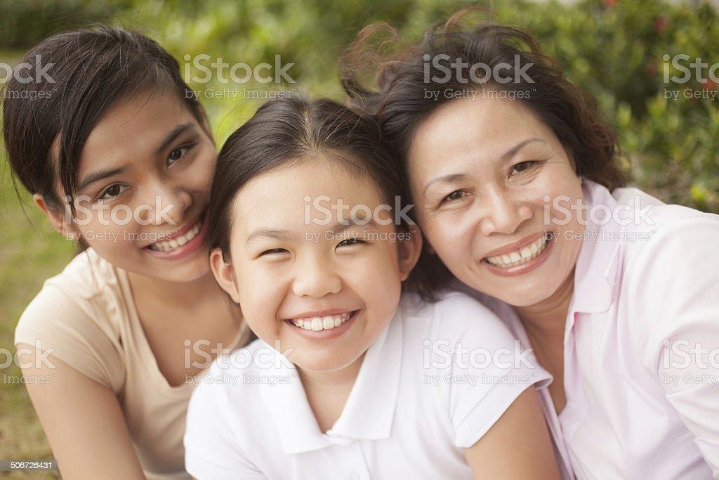 Women generation stock photo