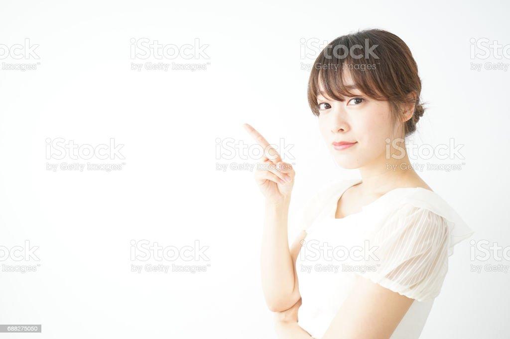 Women gesture stock photo